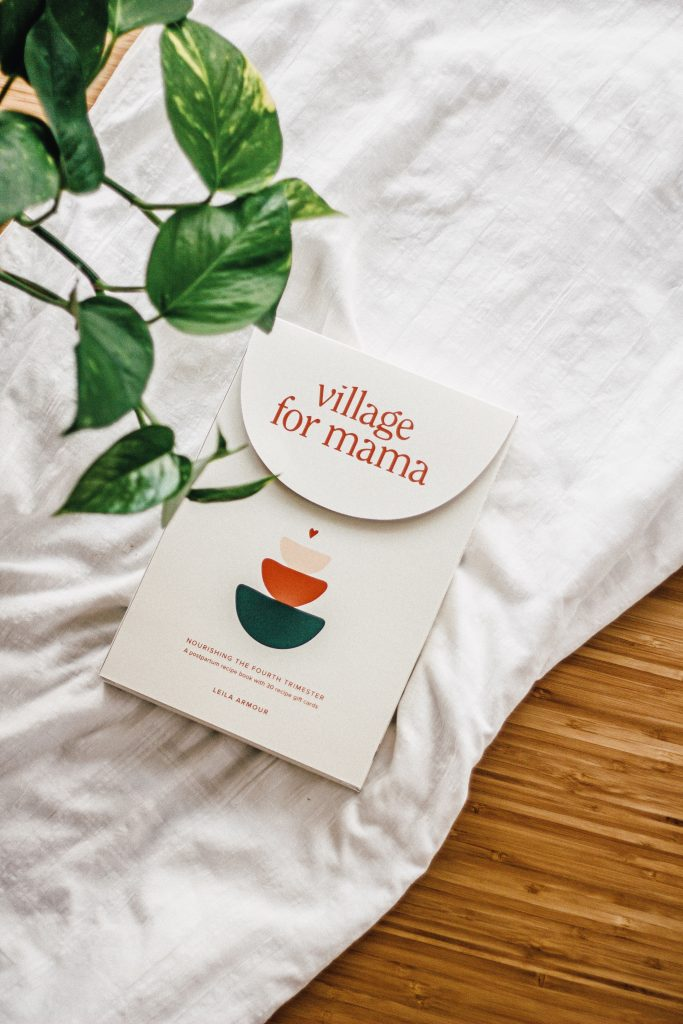 perfect gift for a new mama, village for mama book